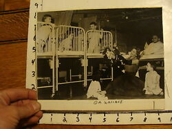 Vintage Puppet Marionette Photo Gia Wallace In Hospital With Horse Puppet