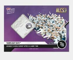 2020 Game-used Base Relic Andagrave 25 Tampa Bay Rayons Mlb Topps Now Carte 437a Mlb