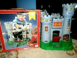 Vtg Fisher Price 1994 Great Adventure Castle Set 7110 Complete W/box Very Good