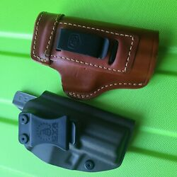 2 Hk P2000 Iwb Holsters - Gould Learher And Cya Supply Co Compact Iwb Holster