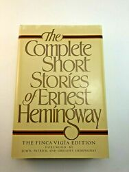 1st Edition The Complete Short Stories Of Ernest Hemingway Finca Vigia Hardcover