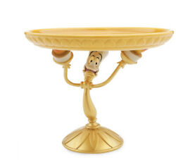 Disney Store Beauty And The Beast Be Our Guest Lumiere Cake Stand New