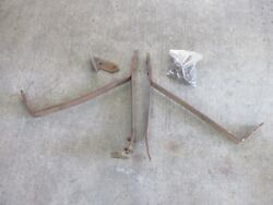 1951 1952 Cadillac Front Bumper Brackets Braces Supports