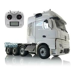 Rc Tractor Truck 1/14 Lesu Metal Chassis Motor Radio 402a Hercules Actros Cabin