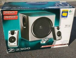 Logitech Z-2300 2.1 Speakers And Subwoofer