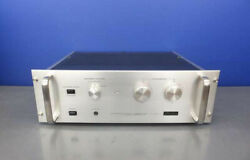 Accuphase Power Amplifier P-20 Ac100v Working Properly 9358
