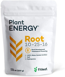 Fitleaf Plant Energy Root 10-25-16, Water Soluble Fertilizer For Enhanced Root