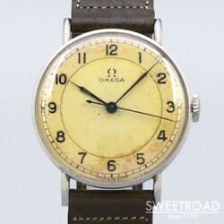 Omega Vintage Cal.30sct2 Used Manual Winding Mens Watch Authentic Working