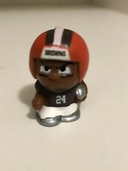 Nick Chubb Nfl Teenymates Silver Series 9 Figure Cleveland Browns Football