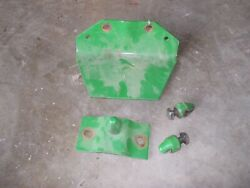 John Deere A G Jd Tractor Front Cultivator Brackets And Bullet Mounts Hard To Find