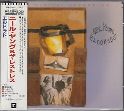 Neil Young And Restless 5 Track Cd Eldorado Japan Only Release Obi 20p2-2651 1989