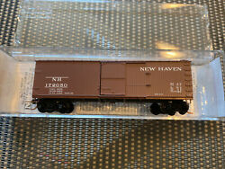 N Scale Micro-trains 042 00 130 New Haven Double-sheathed Boxcar Road 172050