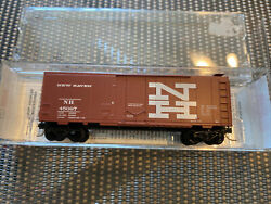 N Scale Micro-trains 21250 New Haven 40' Standard Boxcar Rd. 45097 New In Box