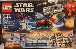 Retired - New 2015 Sealed Lego Star Wars Advent Calendar 75097 - Sold Out