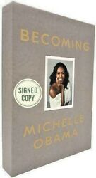 Becoming Michelle Obama ✎ Signed ✎1st Edition Deluxe Edition New Still Sealed