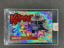 2019 Panini Kaboom Recollection Collection Emmitt Smith Auto Autograph 3/3