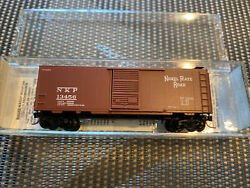N Scale Micro-trains 20016 Nickle Plate Road 40' Standard Boxcar Road 13456