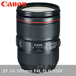 [to Russia] Canon Ef 24-105mm F4l Is Ii Usm Lense Dslr Full Frame By Cdek