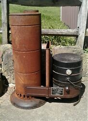 Antique Coleman Oil Burning Heater Stove Or Furnace 333a Rare