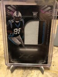 2021 Panini Black Terrace Marshall Jr 3 Color Patch Auto Silver 16/199 Panthers