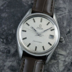 Omega Seamaster Vintage Stainless Steel Automatic Mens Watch Authentic Working