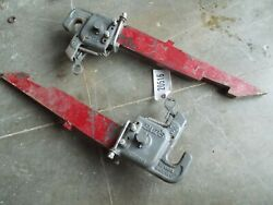 Farmall Ih Tractor 2pt To 3pt Conversion Slide In Arms / Quick Hitch Thumbs Pats
