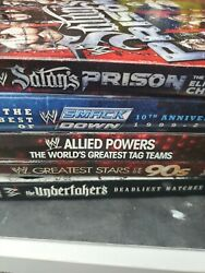 Wwe Wrestling Dvd Lot Of 5 Wwe Collections Dvds. Best Of Undertaker Raw 2009