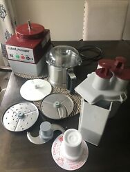 Robot Coupe R2n Food Processor With Stainless Steel Bowl