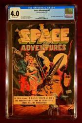 Space Adventures 7 Cgc 4.0 Vg Charlton Golden Age Pre Code Comic Book July 1953