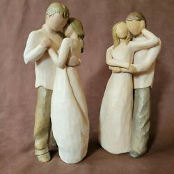 Willow Tree Together And Promise Husband And Wife Or Couple Figure Susan Lord Lot