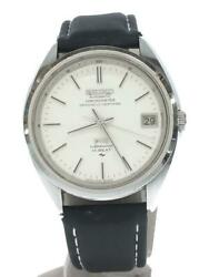 Seiko King Seiko 5245-6000 Vintage Hi-beat Special Used Ss Automatic Mens Watch