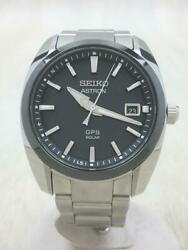 Seiko Astron Sbxd005 Date Box Used Gps Solar Mens Watch Authentic Working