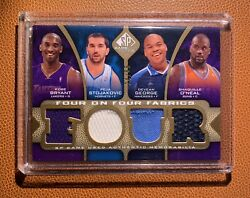 Kobe Bryant Shaquille 8 Player 2009-10 Jersey Ed 24/65 2007 All-star Jersey 1/1