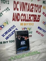 E.t. Extra Terrestrial 1982 Vhs Mint Pepsi Promo Green Tab White Clamshell