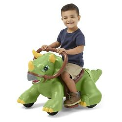 Rideamals Dinosaur Ride-on Toy By Kid Trax, Powered Rechargeable New