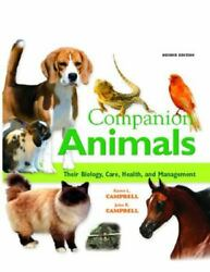 Companion Animals Their Biology, Care, Health, And Management 2nd Edition By