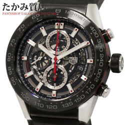 Tag Heuer Carrera Caliber Heuer 01 Car2a1z-0 Menand039s From Japan N0915