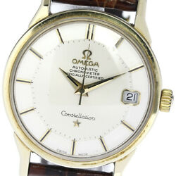 Wrist Watch Omega Constellation Cal.564 Menand039s Analog Automatic Winding Used