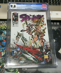 Spawn 9  First Appearance Of Angela  Cgc 9.8  Todd Mcfarlane Nm+