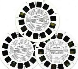Star Trek Cartoon, Spock's Time Travel 3 Reels Only From View-master Pkt B555