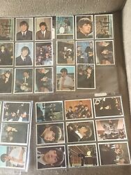The Beatles 1960's Bandw And Colored Trading Cards Total 116 Cards