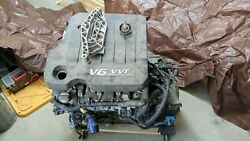 Engine With Transmission 3.6l Vin 3 8th Digit From 2015 Buick Lacrosse 49k Miles