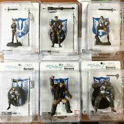 Berserk Figure Vol.5 Hawk's Group Set Limited Edition With Flag From Japan