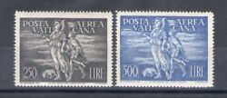 1948 Vatican, Stamps New, Year Complete 2 Val Di Mail Aerea Mnh