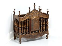 Antique 19th Century Walnut French Provincial Panetiere