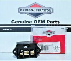 Genuine Oem Briggs And Stratton 796352s Electronic Choke Module Replaces 796350