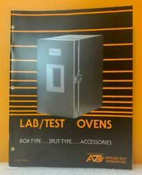 Applied Test Systems, Inc. Lab / Test Ovens Bulleting 3610/a Catalog.