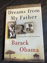Dreams From My Father - Signed By President Barack Obama And Michelle Obama
