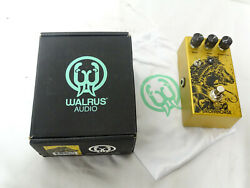 Walrus Audio Iron Horse V2 Distortion Guitar Effects Pedal