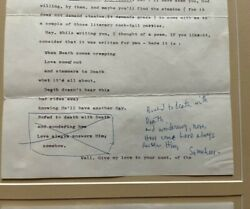African American Writer James Baldwin Signed Letter With Unpublished Poem